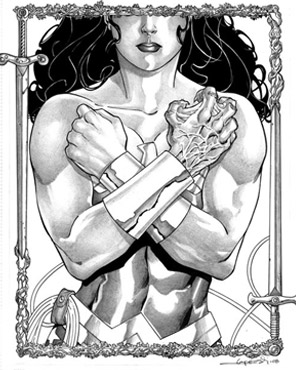Wonder Woman Cover #21