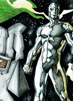 Dr. Doom and Silver Surfer